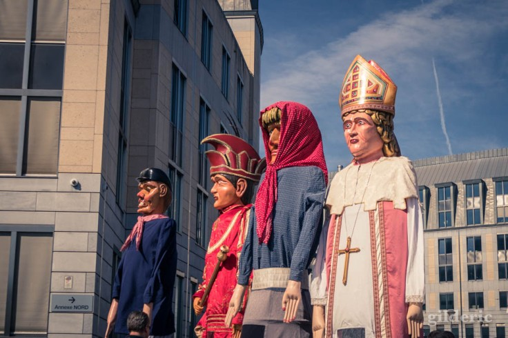 Les géants Tchantchès, Prince Carnaval, Nanesse et Saint Lambert