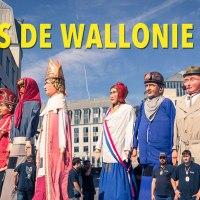 Tambours et folklore aux Fêtes de Wallonie 2019 à Liège