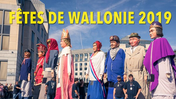 Fêtes de Wallonie 2019 : Tambours et géants