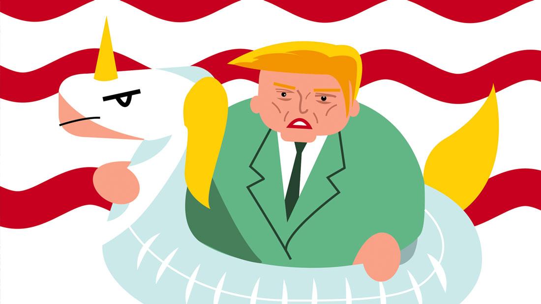 Donald Trump paré pour le changement climatique (dessin) ?