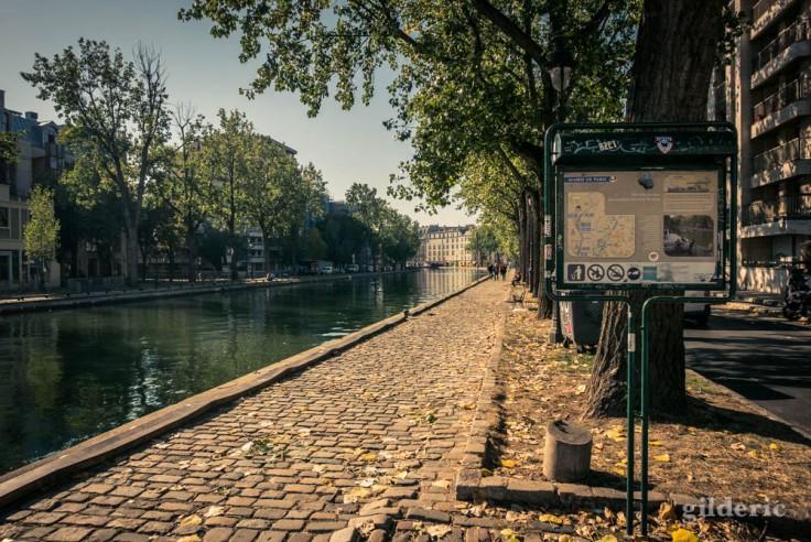 Le bassin des Récollets (canal Saint-Martin)