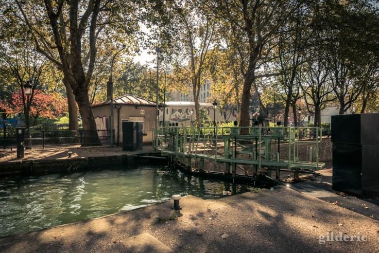 Ecluse des Morts, canal Saint-Martin