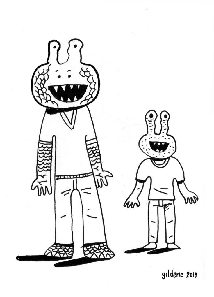 Dessiner des monstres : Arthur & fils