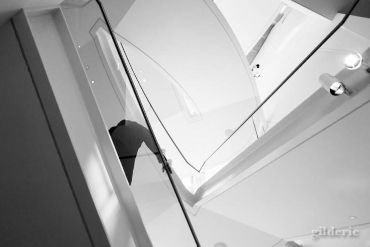 A l'intérieur de la Fondation Louis Vuitton