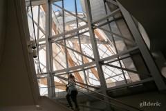 A la découverte de l'intérieur de la Fondation Louis Vuitton