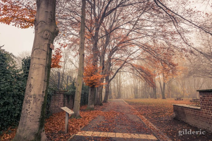 Entrée de la plaine de Péville et du bois de la Chartreuse (Liège)