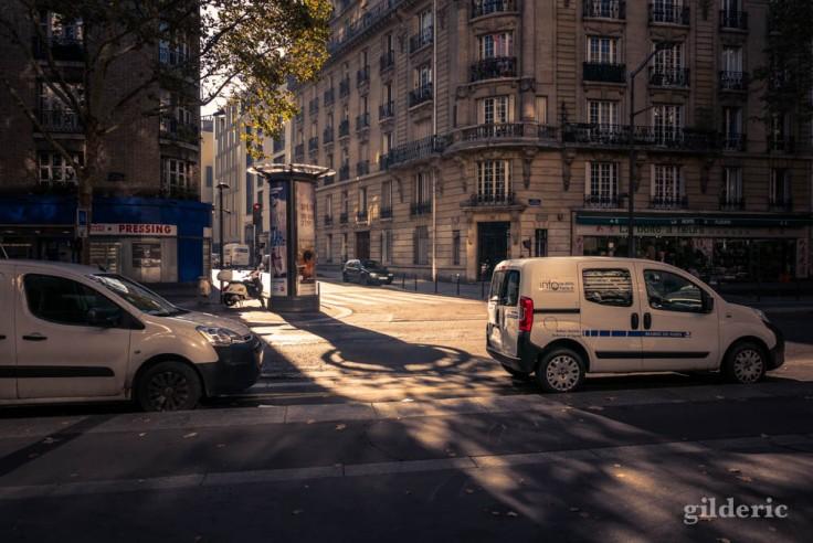 Ombres d'automne à Paris