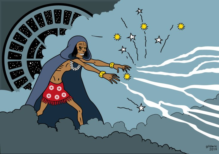 Tintin vs Star Wars : Rascar Palpatine (version Tintin)