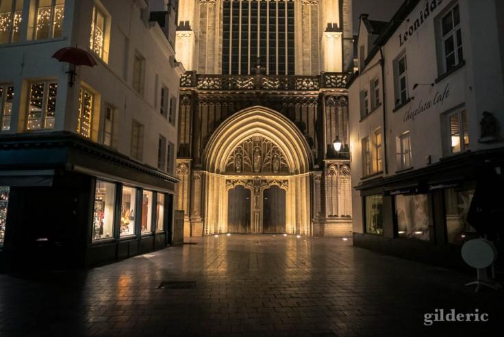 portail de la cathédrale Notre-Dame à Anvers