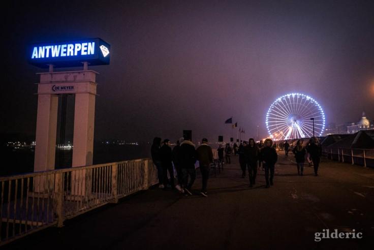 Anvers, ville du diamant, la nuit du Nouvel An