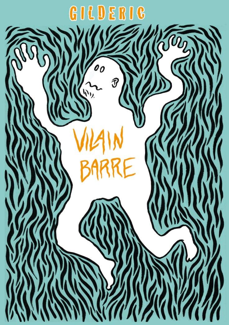 Vilain Barré, projet de couverture de roman graphique