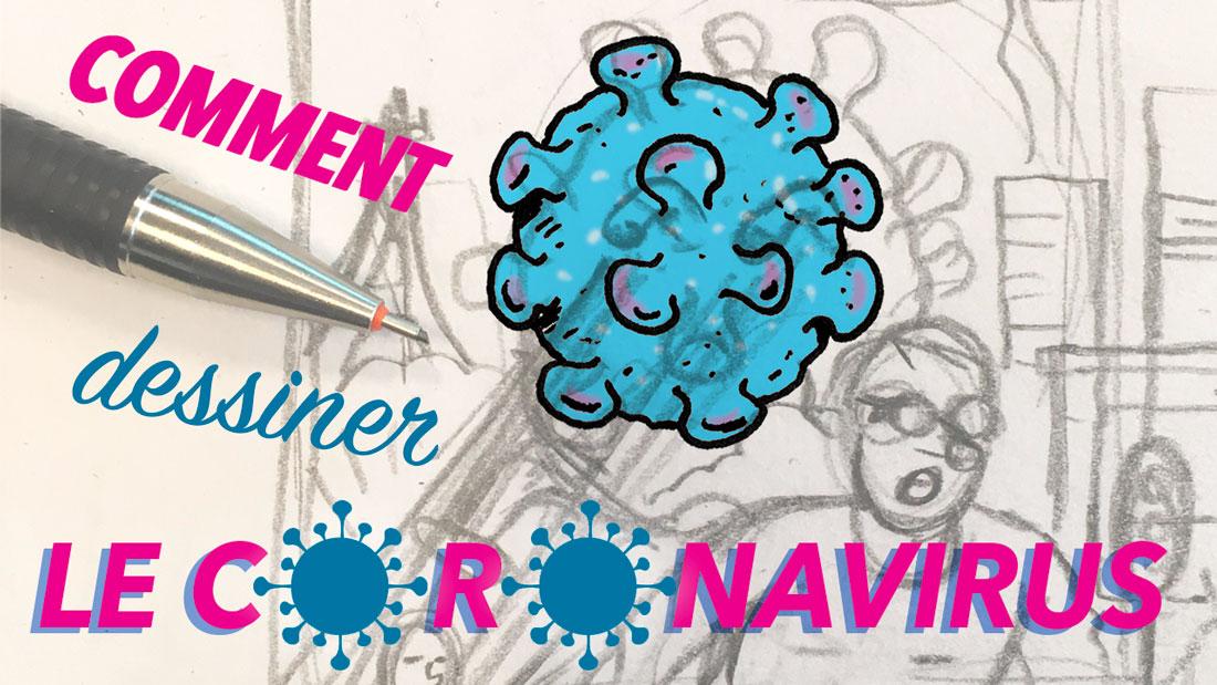 Comment dessiner le coronavirus ?