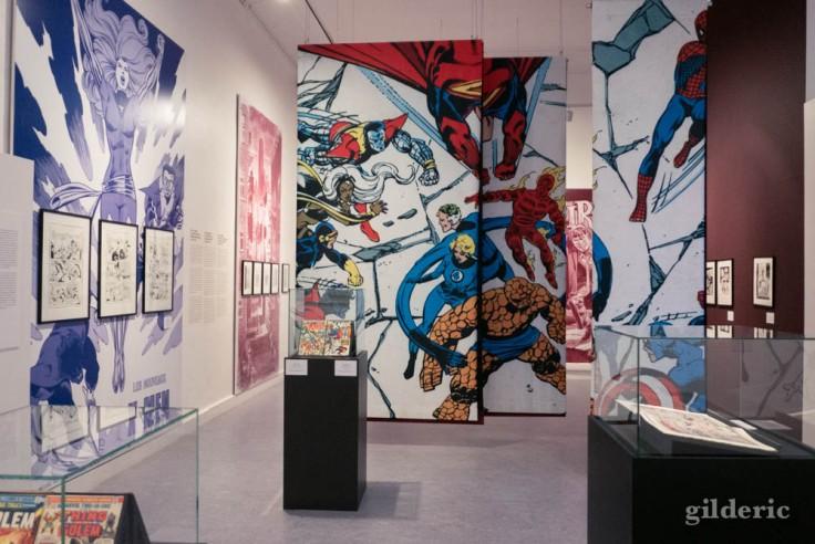 """Exposition """"Superheroes never die"""" au Musée juif de Belgique à Bruxelles"""