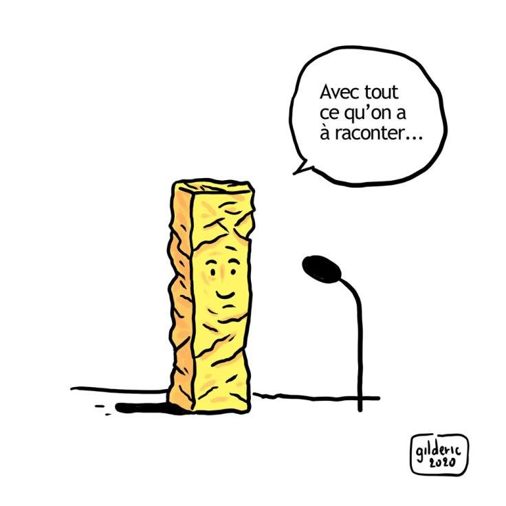 Si les césars pouvaient parler (strip BD, case 2)