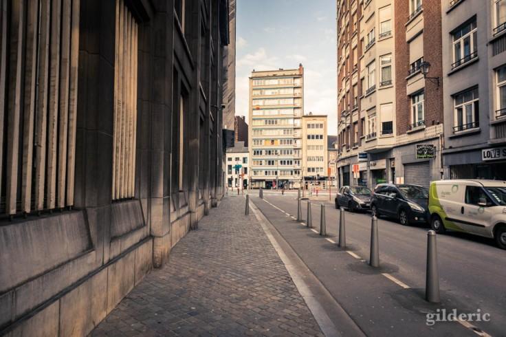 Liège Lockdown : tout est calme en ville (suite au confinement luttant contre le coronavirus)
