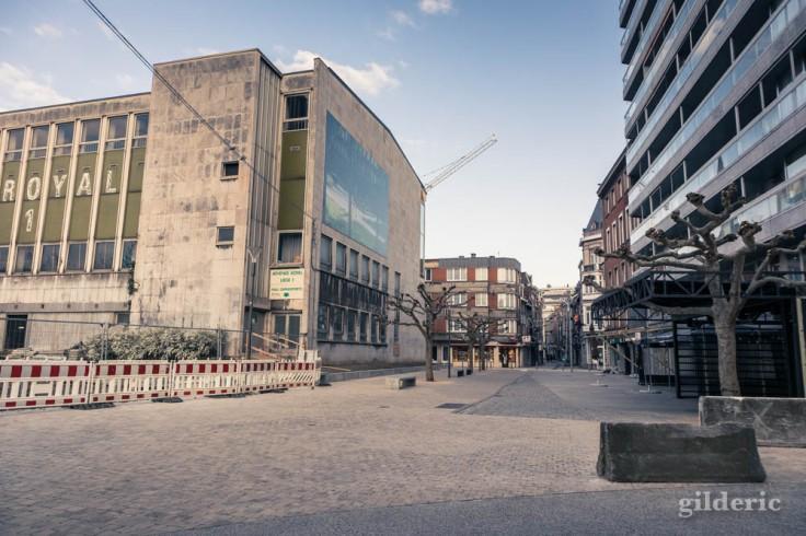 Liège Lockdown : ville à l'arrêt (suite au confinement luttant contre le coronavirus)