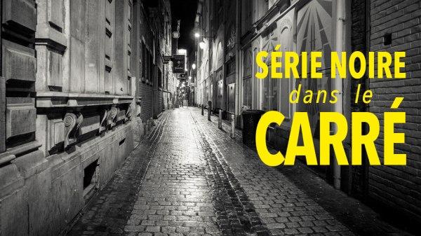 Série noire dans le Carré de Liège (street photography)