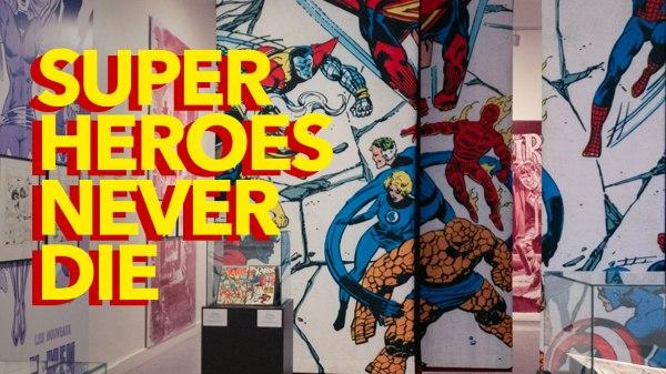 Superheroes Never Die - exposition au Musée juif de Belgique à Bruxelles