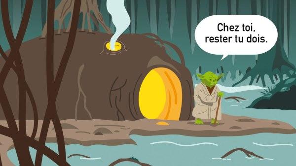 Confiné avec Yoda sur Dagobah - Chroniques du confinement