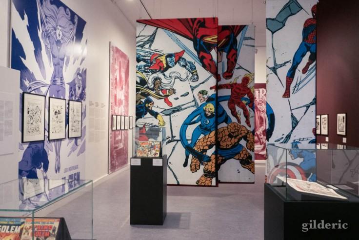 Expo Superheroes Never Die : la genèse des comics et des super-héros
