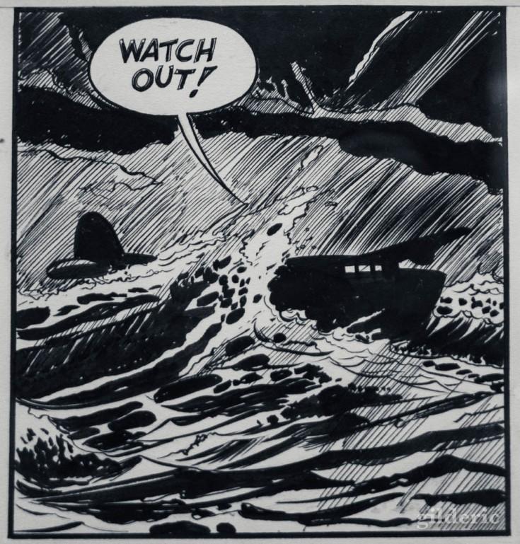 Une case du Spirit de Will Eisner
