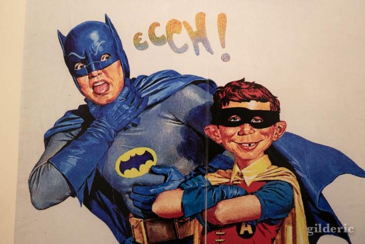 """Batman et Robin parodiés dans """"Mad"""""""