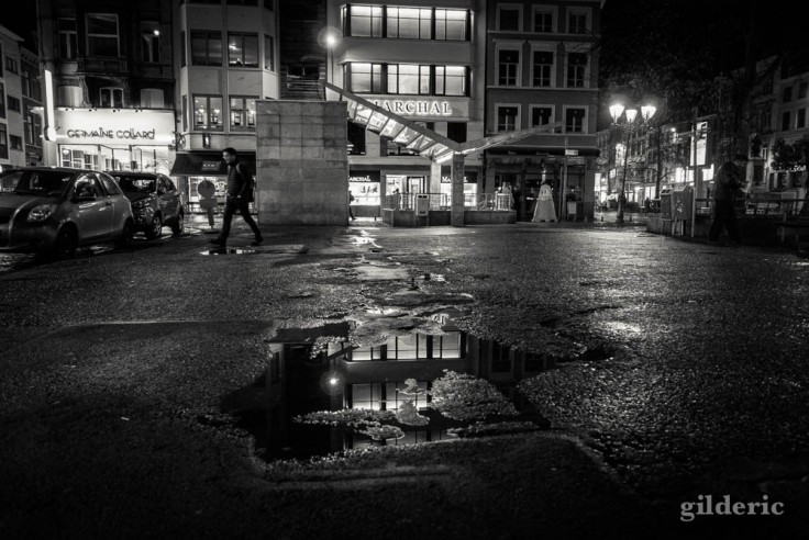 Série noire dans le centre de Liège