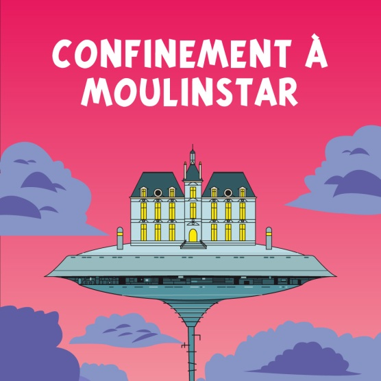 Tintin vs Star Wars : couverture Confinement à Moulinstar (variante)