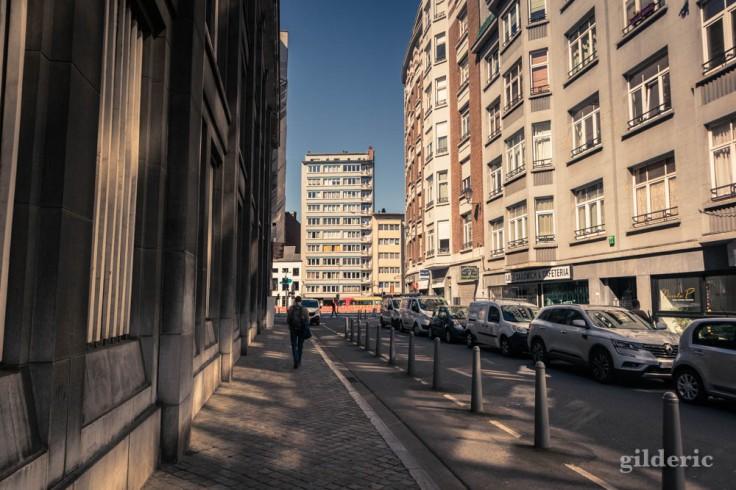 Liège avant le déconfinement : vers le boulevard d'Avroy