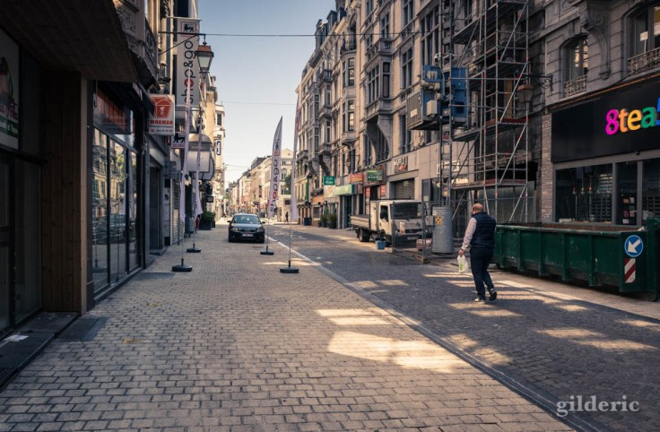 Liège ville fantôme : rue Pont d'Avroy