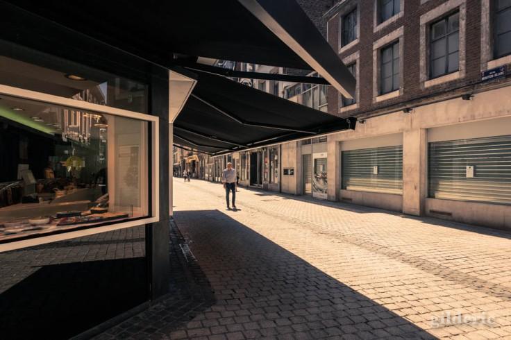 Liège ville fantôme : dans le Carré