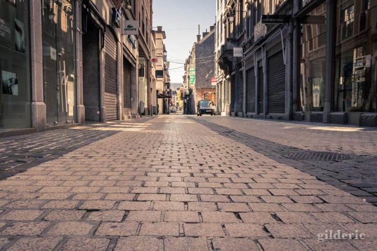 Liège ville fantôme : les pavés du Pot d'Or