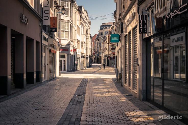Liège ville fantôme : le dédale de commerces vides