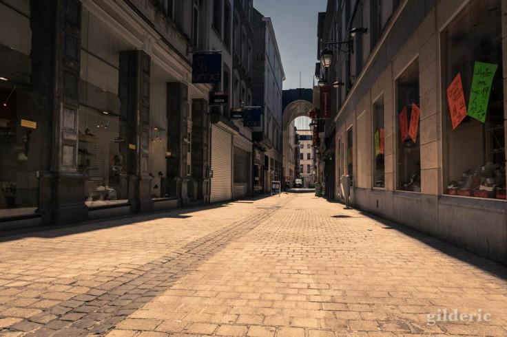 Liège ville fantôme : rue Lulay