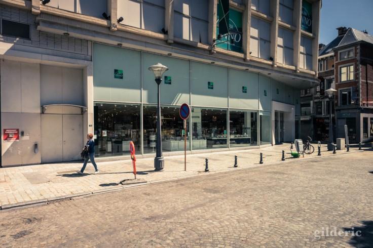 Liège ville fantôme : no shopping