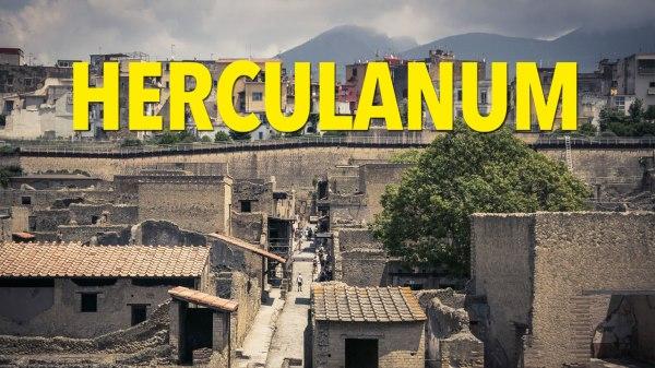 Visiter Herculanum : la petite soeur de Pompéi