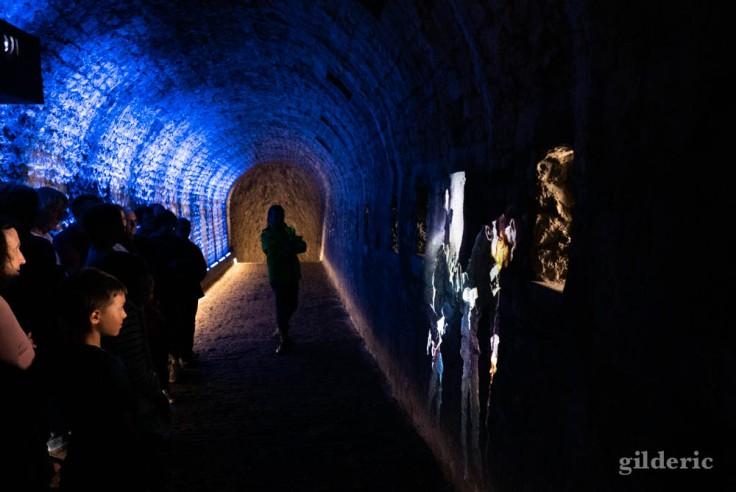Citadelle de Namur : des animations redonnent vie aux souterrains