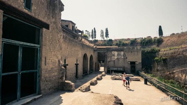 Herculanum : Area Sacra
