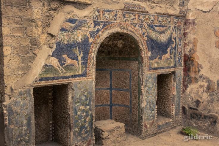 Nymphée (casa di Nettuno e Anfitrite à Herculanum)