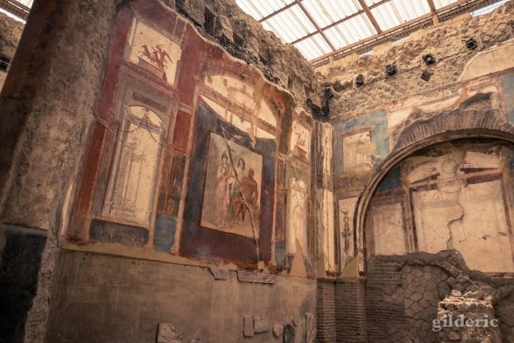 Fresques du Sacellum des Augustales (Herculanum)