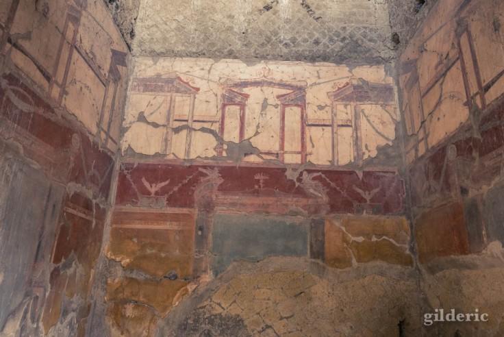 Peinture murale de la Casa dei Due Atria (Herculanum)