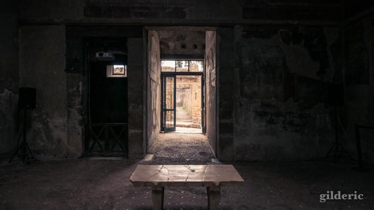 Intérieur de la casa del Tramezzo di Legno
