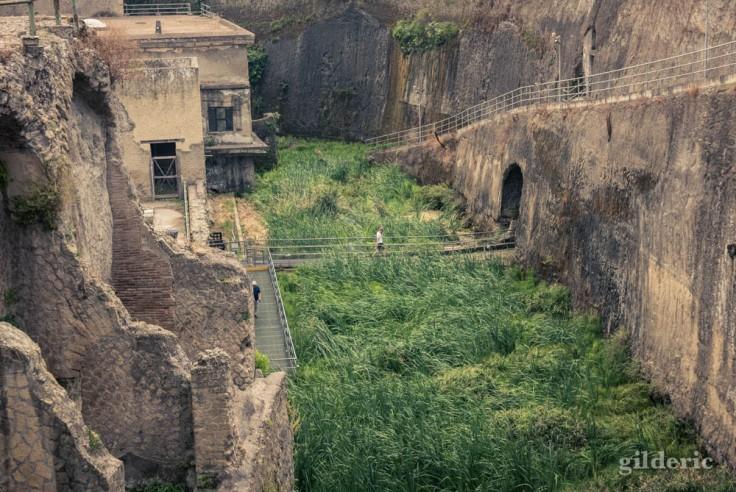 Plage antique d'Herculanum