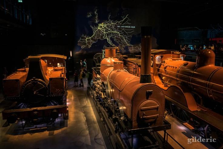 Train World : des premières locomotives au TGV