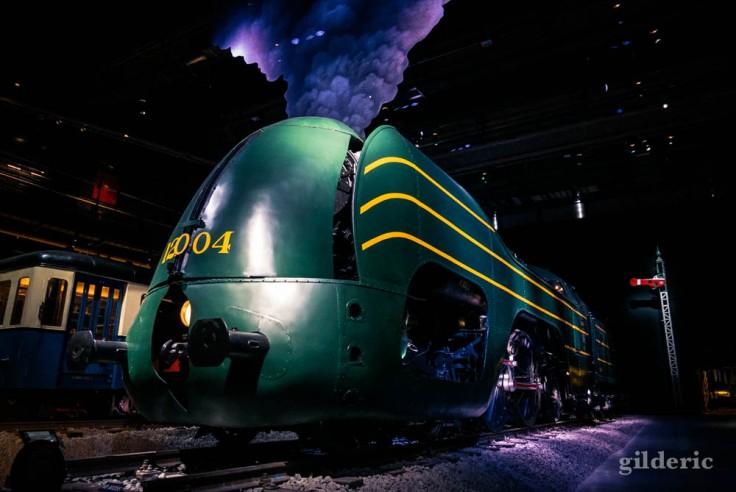 Train World : la Locomotive Type 12, une des plus belles pièces du musée
