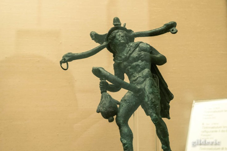 Petite statuette en bronze de Pompéi, Cabinet secret au Musée archéologique de Naples