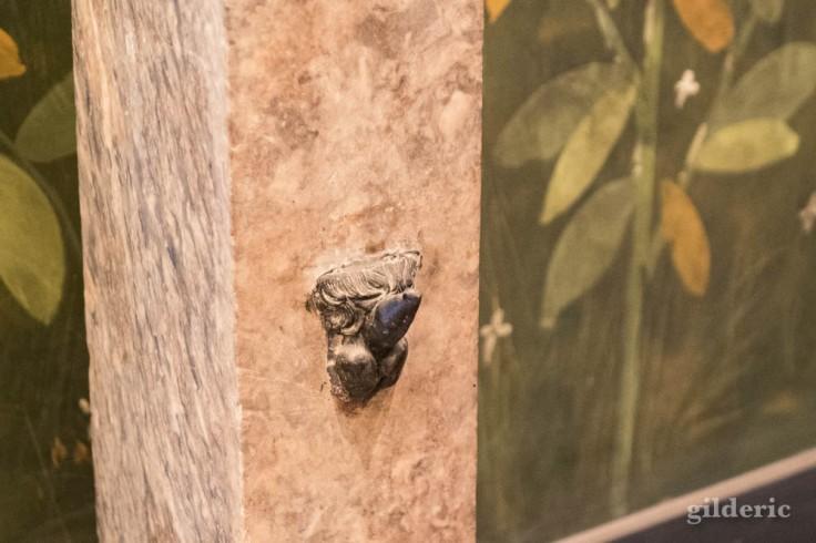 Détail de la Fontaine (Cabinet secret, Musée archéologique de Naples)