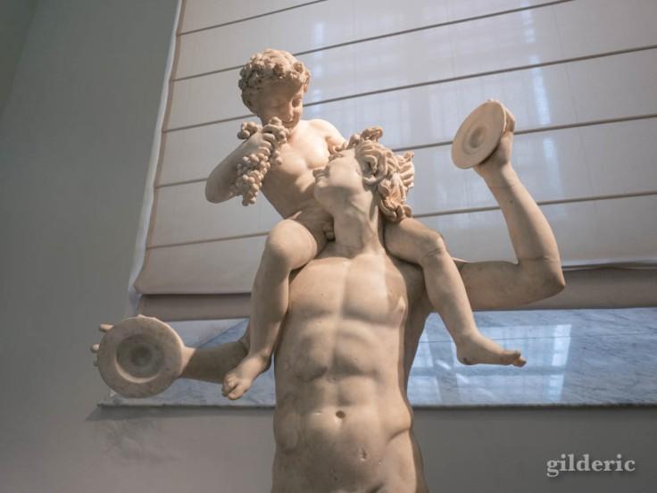 Sculpture romaine au Musée archéologique de Naples