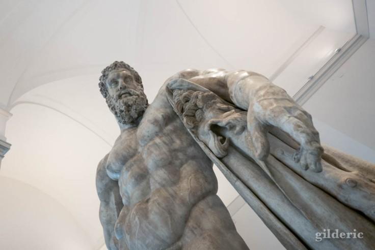 Hercule Farnèse (détail)
