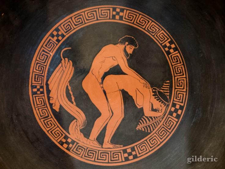 Céramique grecque érotique (cabinet secret du Musée archéologique de Naples